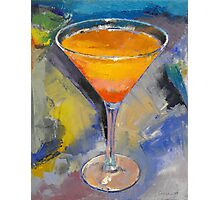 Mango Martini Painting Photographic Print