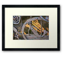 Steel Mermaid Framed Print