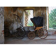 Old coach Photographic Print