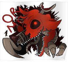 Nightmare Foxy Poster
