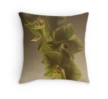 Orchids #3 Throw Pillow