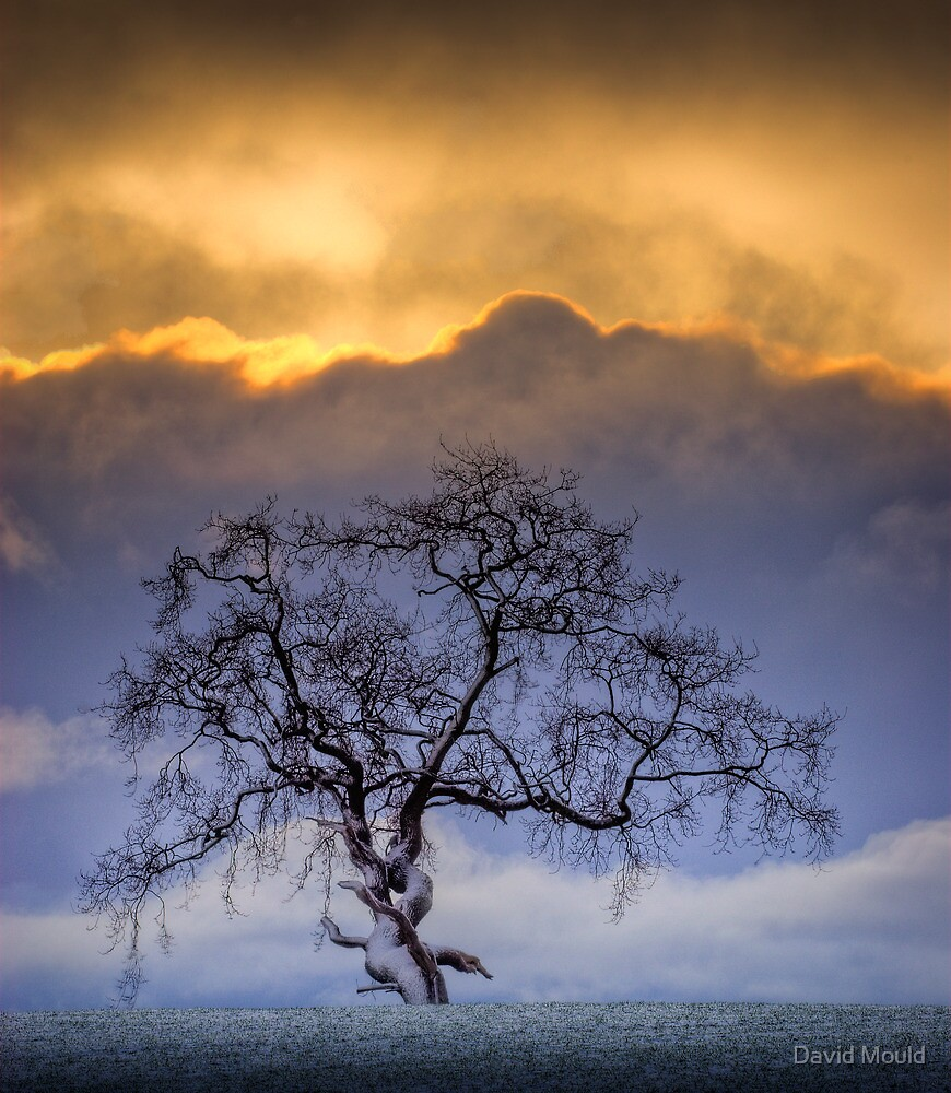 Snowstorm clouds... by David Mould