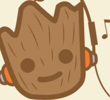 Musical Baby Groot Sticker