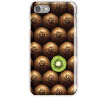 Sliced kiwi between group iPhone Case/Skin