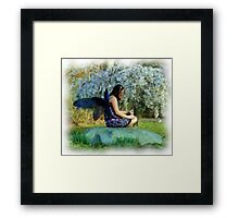 Blooming Fey Framed Print