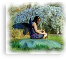 Blooming Fey Canvas Print