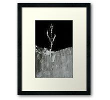 0022 - BrushAndInk - Blade Gone Fluff Framed Print