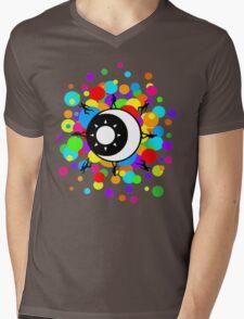Planetary Party Bubble Mens V-Neck T-Shirt