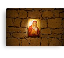 Mother Mary Wall Canvas Print
