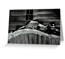 0023 - BrushAndInk - Behind and Within Greeting Card