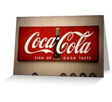 St. Augustine, Florida, Coca-Cola Greeting Card