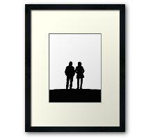 Silhouetts II Framed Print