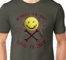 Sworn to Fun, Loyal to None Mechanic Unisex T-Shirt