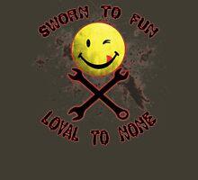 Sworn to Fun, Loyal to None Mechanic Unisex T-Shirt