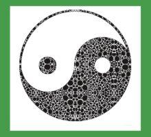 Perfect Balance 1 - Yin and Yang Stone Rock'd Art by Sharon Cummings Kids Clothes