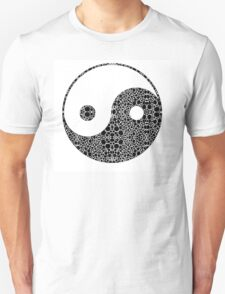 Perfect Balance 1 - Yin and Yang Stone Rock'd Art by Sharon Cummings T-Shirt