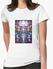 Energy #5 Womens Fitted T-Shirt