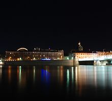 Lyon by night #8 by Antti Andersson