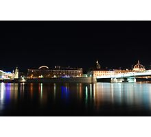 Lyon by night #8 Photographic Print