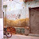 Bicycle & Coca-Cola Sign, La Paz, Baja, Mexico by Stephen D. Miller