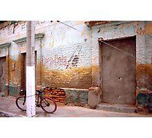 Bicycle & Coca-Cola Sign, La Paz, Baja, Mexico Photographic Print