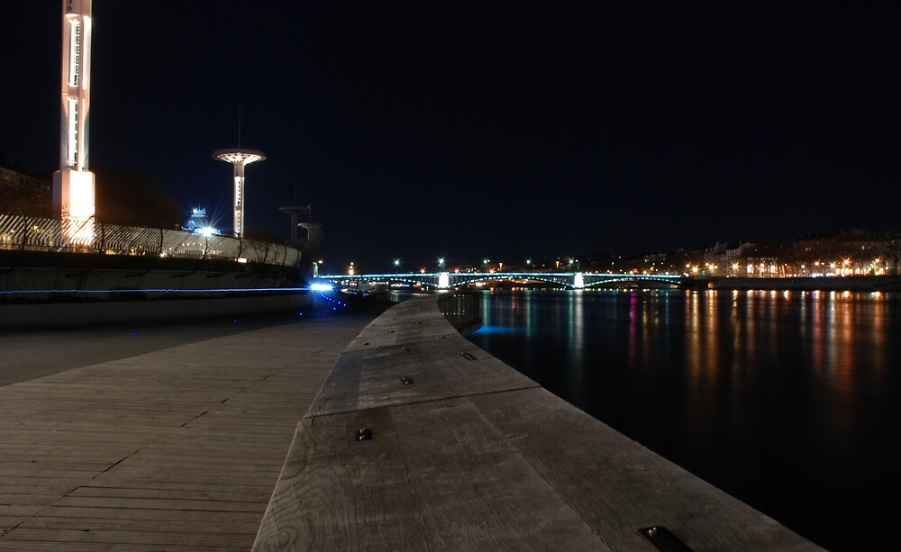 Lyon by night #9 by Antti Andersson
