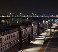 Lyon by night #10 by Antti Andersson