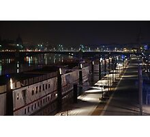 Lyon by night #10 Photographic Print