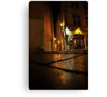 Lyon by night #13 Canvas Print