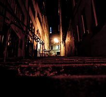 Lyon by night #14 by Antti Andersson