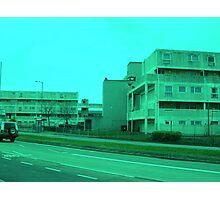 Bauhaus Green Photographic Print
