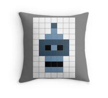 Bender's Graffiti Mosaic Throw Pillow