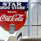 Coca-Cola Neon Sign, Galveston, Texas by Stephen D. Miller