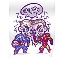 HeroChibis - LANGUAGE!! Poster