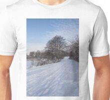 A Pale Blue Snowday  Unisex T-Shirt