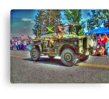 Jeep HDR Canvas Print
