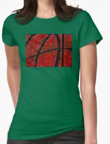 AH - Red Stone Rock'd Art by Sharon Cummings Womens Fitted T-Shirt