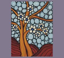 The Loving Tree - Abstract Mosaic Landscape Art Print Kids Clothes