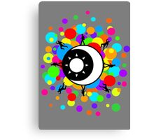 Planetary Party Bubble Canvas Print