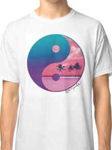 Tropical Yin Yang Classic T-Shirt