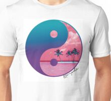 Tropical Yin Yang Unisex T-Shirt