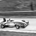 Prescott Speed Hill Climb - Force PC, Suzuki, 1299cc (Black & White) by Tom Clancy