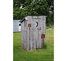 Route 66 OutHouse Photographic Print