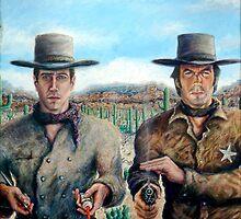 """""""Spaghetti Western"""" - Acrylic by JETIII"""
