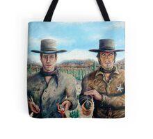 """Spaghetti Western"" - Acrylic Tote Bag"