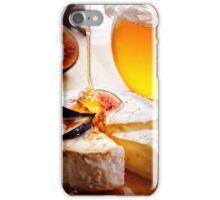 Brie Cheese with Figs and honey iPhone Case/Skin