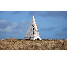 White Pyramid at Emanuel Head Photographic Print