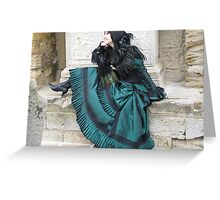 Gothic Beauty Greeting Card