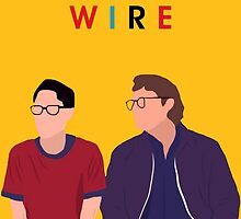 Telephone Wire - Fun Home by wormwoods
