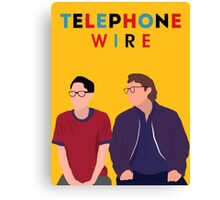 Telephone Wire - Fun Home Canvas Print